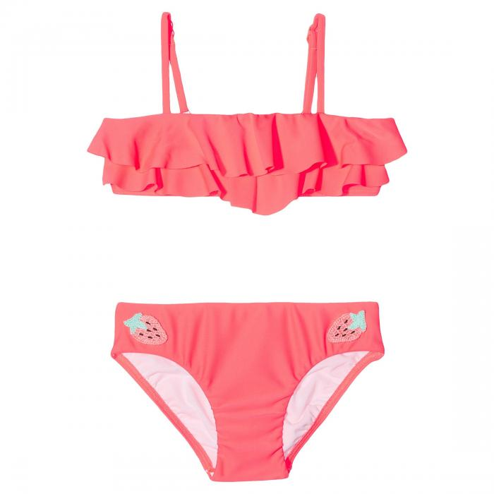 【海外限定】水着 キッズ 【 TOUCI FRUTTI RUFFLE MINI TUBE BIKINI SET TODDLER LITTLE KIDS 】