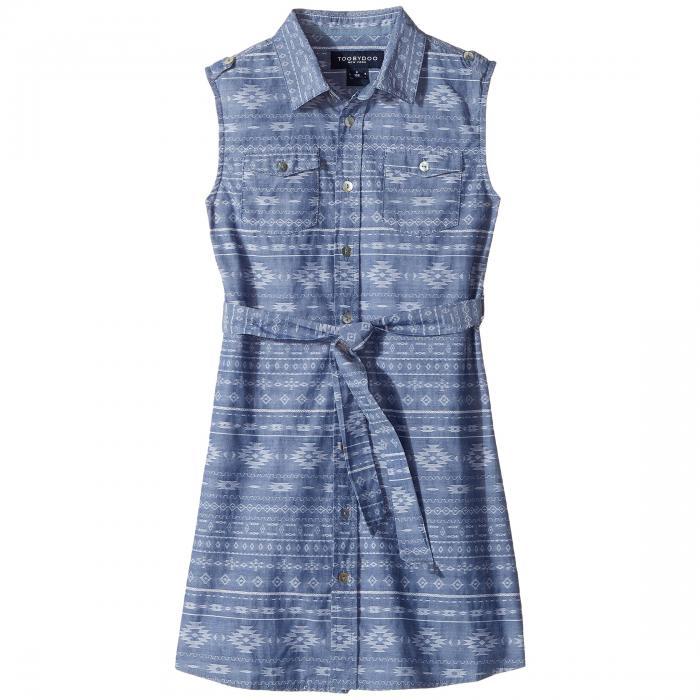 【海外限定】ドレス キッズ ベビー 【 TRIBAL CHAMBRAY BELTED DRESS TODDLER LITTLE KIDS BIG 】