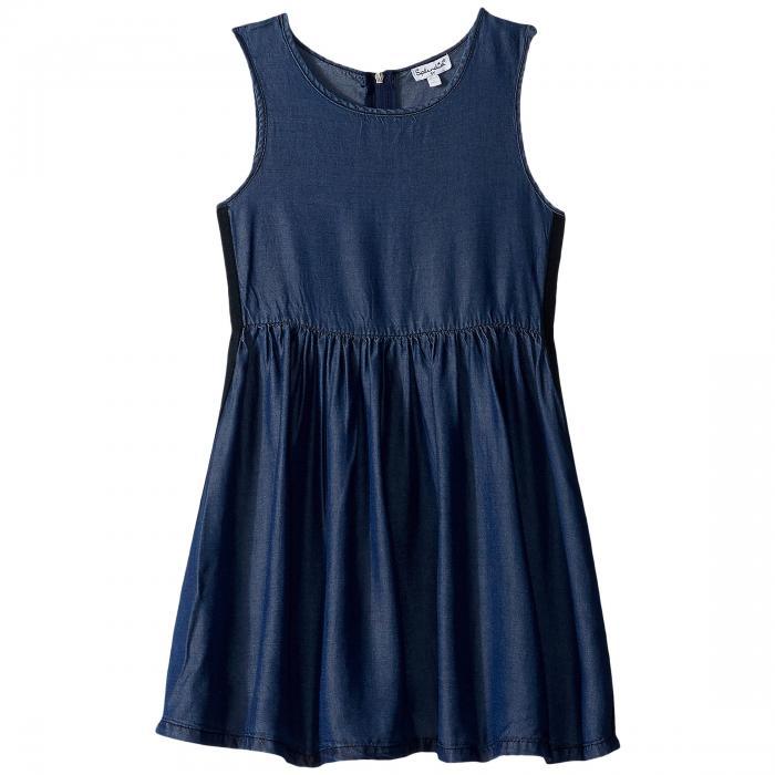 【海外限定】ドレス ベビー キッズ 【 SIDE TAPING TENCEL DRESS TODDLER 】