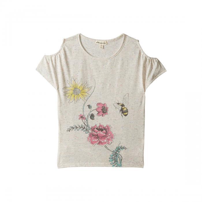 【海外限定】Tシャツ カットソー 【 KYRA TEE TODDLER LITTLE KIDS BIG 】