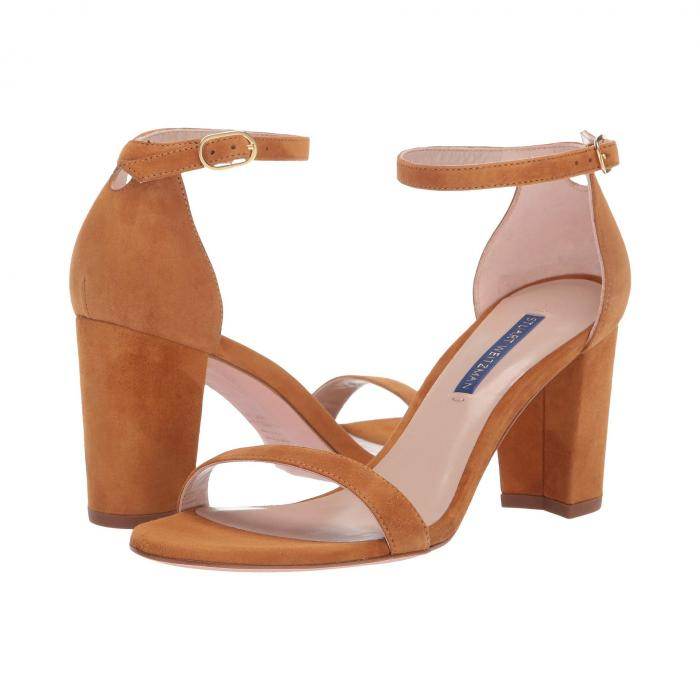 STUART WEITZMAN ストラップ シティ レディース 【 Nearlynude Ankle Strap City Sandal 】 Bridle Suede
