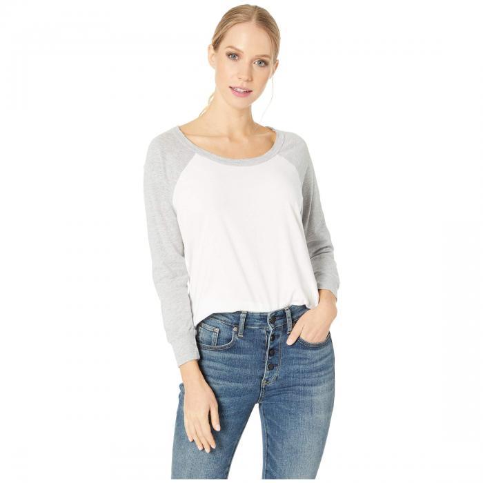 LAMADE ベースボール Tシャツ 白 ホワイト 【 WHITE LAMADE RICKY BASEBALL TEE 】 レディースファッション トップス Tシャツ カットソー