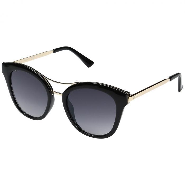 GUESS 黒 ブラック 銀色 シルバー 【 BLACK SILVER GUESS GF0304 MIRROR LENS 】 バッグ  眼鏡