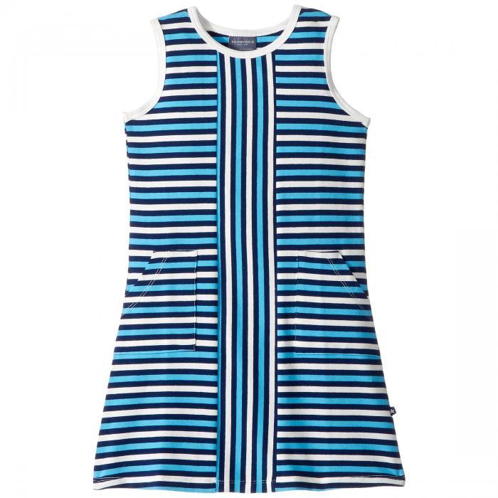 【海外限定】青 ブルー ストライプ ドレス ベビー ワンピース 【 BLUE STRIPE ALEXIA DRESS TODDLER LITTLE KIDS BIG 】