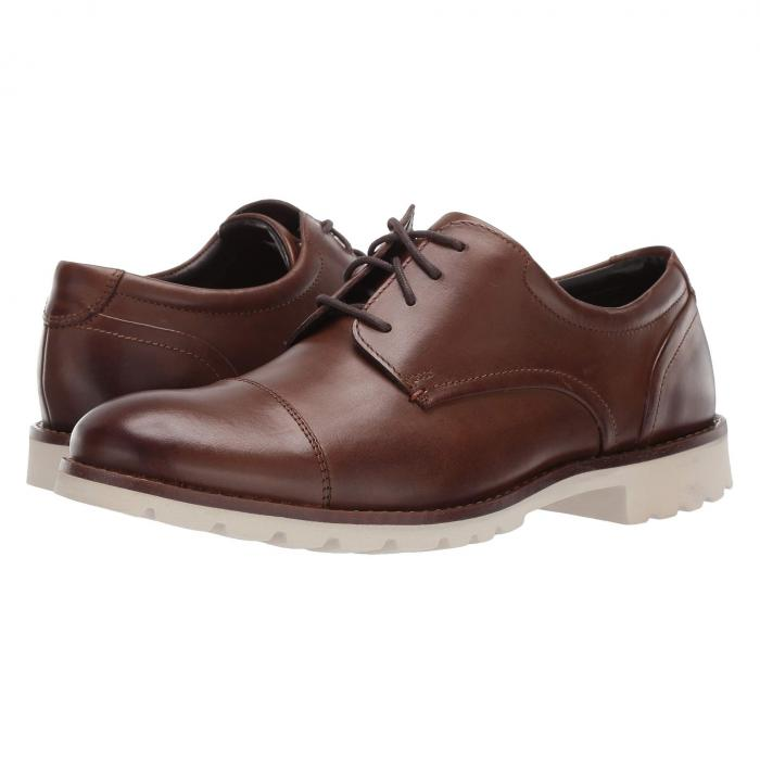 ROCKPORT メンズ ビジネススニーカー 【 Channer 】 Brown Leather