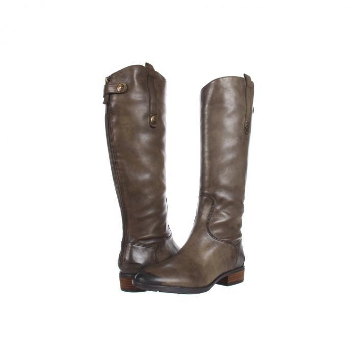 SAM EDELMAN ペニー レザー ブーツ レディース 【 Penny Leather Riding Boot 】 Olive