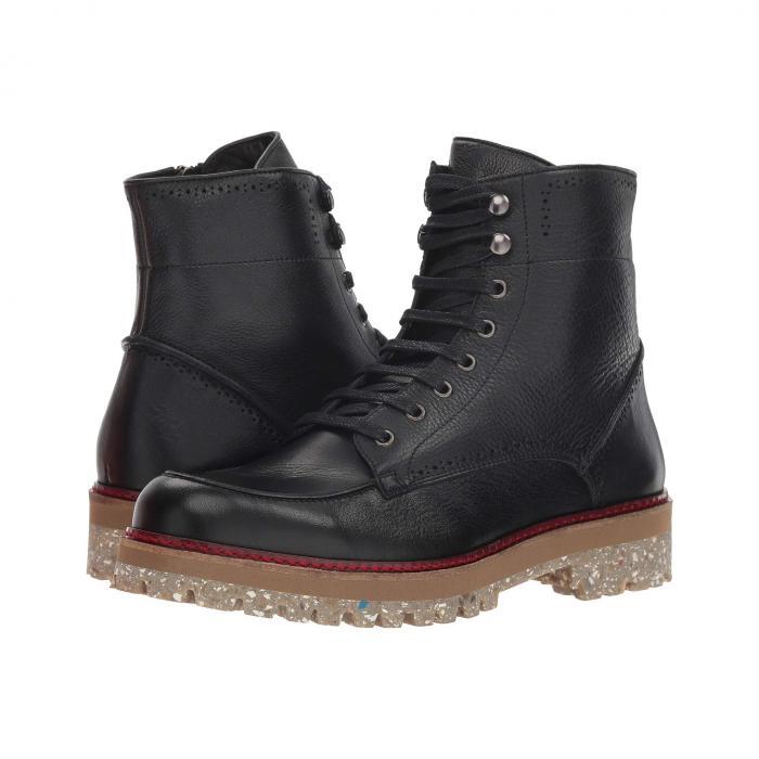 DONALD PLINER 黒 ブラック 【 BLACK DONALD PLINER LARZ BURNISHED CALF 】 メンズ ブーツ