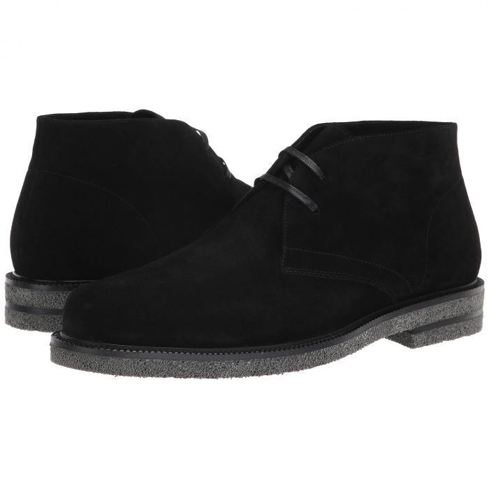 【★スーパーセール中★ 6/11深夜2時迄】DONALD PLINER メンズ ブーツ 【 Levi 】 Black Calf Suede