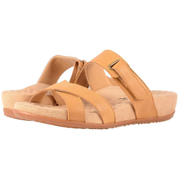 SOFTWALK レディース 【 Brimley 】 Tan Sandal Leather