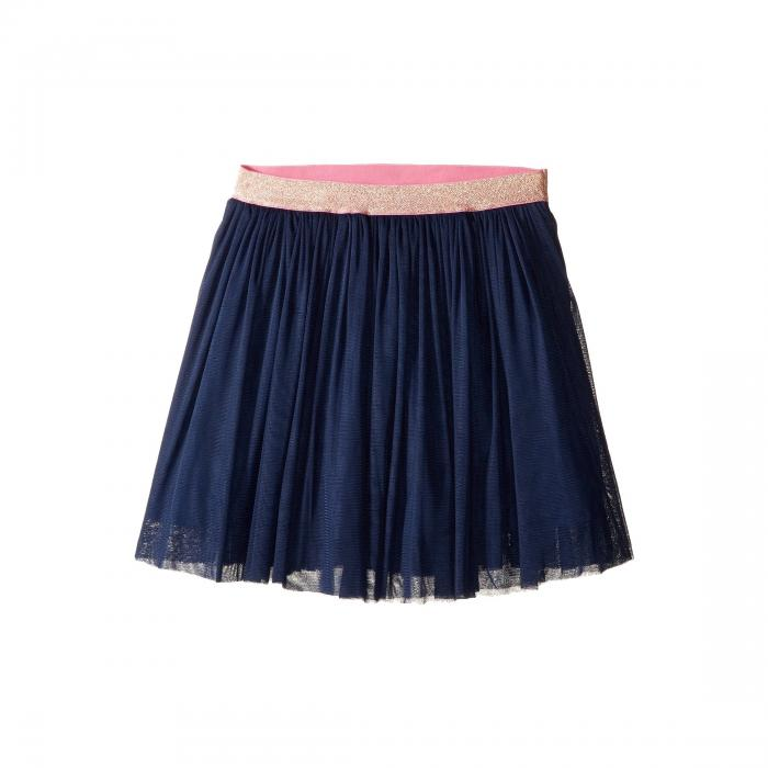 TOOBYDOO 紺 ネイビー キッズ ベビー マタニティ ボトムス ジュニア 【 Navy Tulle Party Skirt (toddler/little Kids/big Kids) 】 Navy/gold