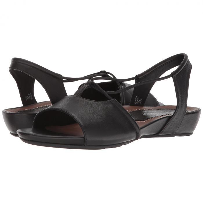アース EARTH レディース 【 Lacona Ies 】 Black Premium Soft Leather