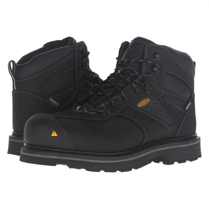 【★スーパーセール中★ 6/11深夜2時迄】KEEN UTILITY メンズ ブーツ 【 Tacoma Wp 】 Black