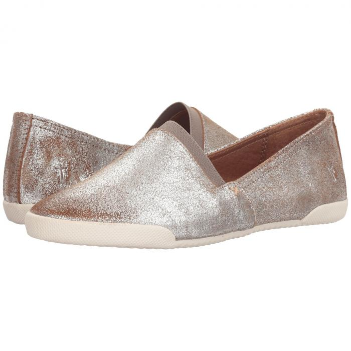 FRYE スリッポン レディース 【 Melanie Slip-on 】 Silver Multi Brushed Metallic