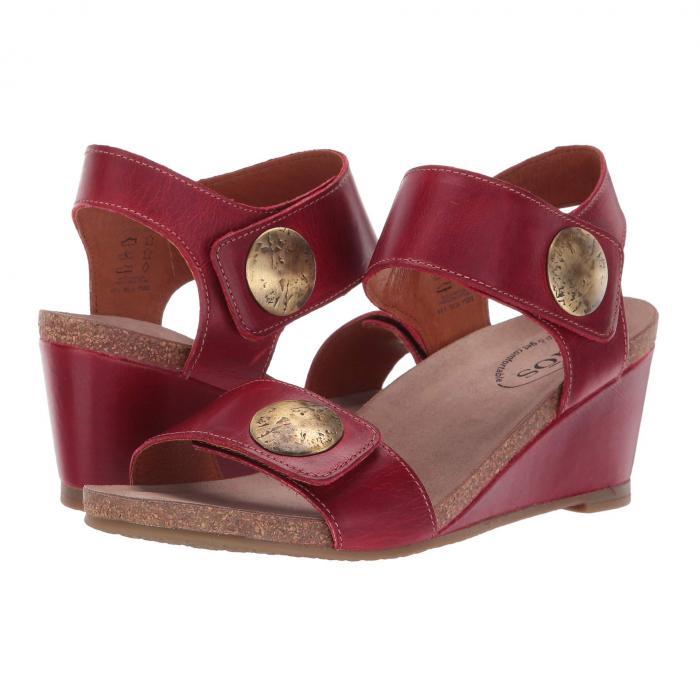 TAOS FOOTWEAR 赤 レッド レザー 【 RED TAOS FOOTWEAR CAROUSEL 2 LEATHER 】