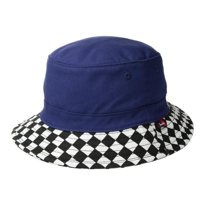 HERSCHEL SUPPLY CO. KIDS 子供用 キッズ ベビー マタニティ キャップ 帽子 ジュニア 【 Lake Youth 】 Medieval Blue/checkerboard