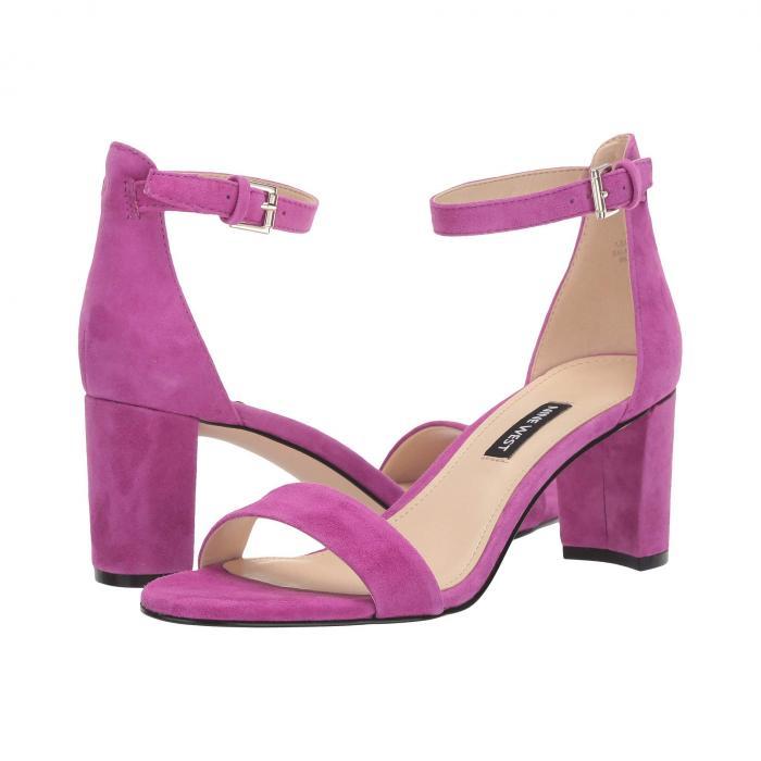 NINE WEST レディース 【 Pruce Block Heel Sandal 】 Fuchsia