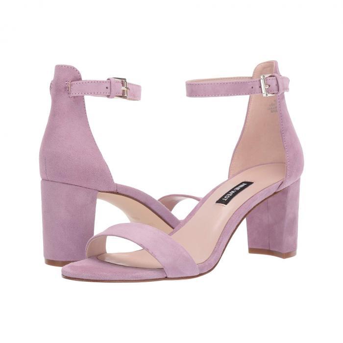NINE WEST レディース 【 Pruce Block Heel Sandal 】 Wisteria Lilac