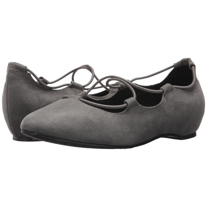 SOFT STYLE GRAY灰色 グレイ 【 GREY COLLEEN DARK FAUX SUEDE 】 送料無料