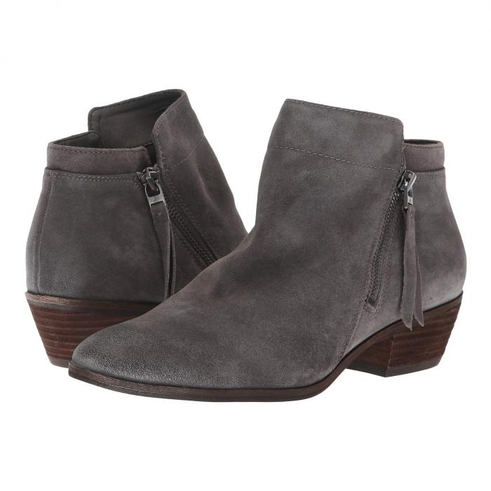 SAM EDELMAN レディース 【 Packer 】 Steel Grey Velutto Suede Leather