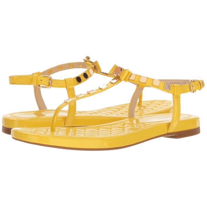 コールハーン COLE HAAN レディース 【 Tali Mini Studded Sandal 】 Habanero Gold Patent