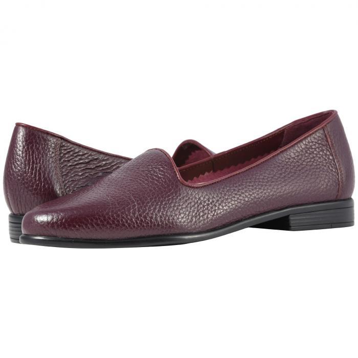 TROTTERS レディース 【 Liz Tumbled 】 Burgundy Very Soft Tumbled Leather