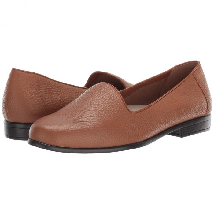TROTTERS レディース 【 Liz Tumbled 】 Tan Very Soft Tumbled Leather