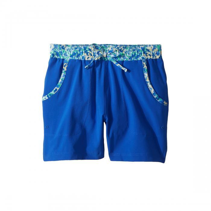 コロンビアキッズ COLUMBIA KIDS ショーツ ハーフパンツ キッズ ベビー マタニティ ボトムス ジュニア 【 Tidal Pull-on Shorts (little Kids/big Kids) 】 Blue Macaw Floral Print
