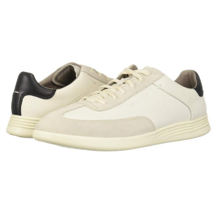 コールハーン COLE HAAN グランド ターフ スニーカー メンズ 【 Grand Crosscourt Turf Sneaker 】 Ivory/pumice Stone Leather/suede