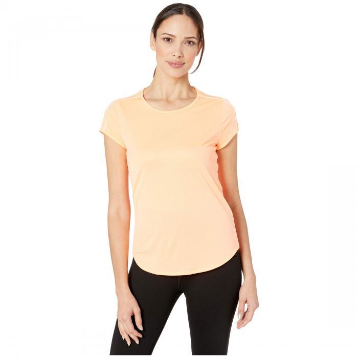 ナイキ NIKE カウント 橙 オレンジ 白 ホワイト 【 ORANGE WHITE NIKE COURT DRY TOP PULSE 】 レディースファッション トップス