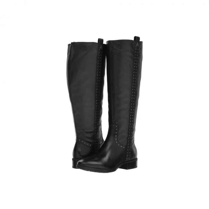 SAM EDELMAN レザー ブーツ レディース 【 Prina Wide Calf Leather Tall Boot 】 Black Neymar Leather