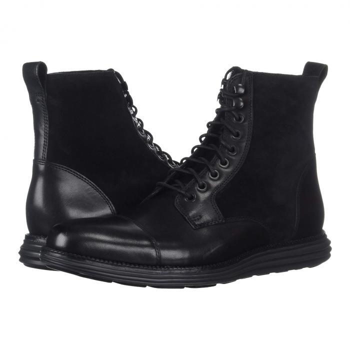 【★スーパーセール中★ 6/11深夜2時迄】コールハーン COLE HAAN グランド キャップ 帽子 ブーツ O.original メンズ 【 O.original Grand Cap Toe Boot Ii 】 Black/black