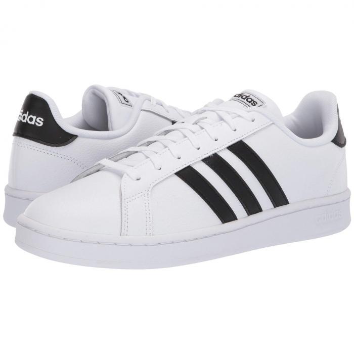アディダス ADIDAS グランド カウント スニーカー メンズ 【 Grand Court 】 Footwear White/core Black/footwear White