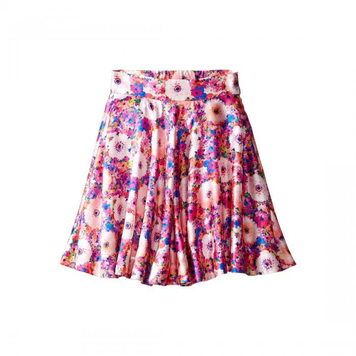 OSCAR DE LA RENTA CHILDRENSWEAR キッズ ベビー マタニティ ボトムス ジュニア 【 Rainbow Dahlia Mikado Circle Skirt (toddler/little Kids/big Kids) 】 Flamingo