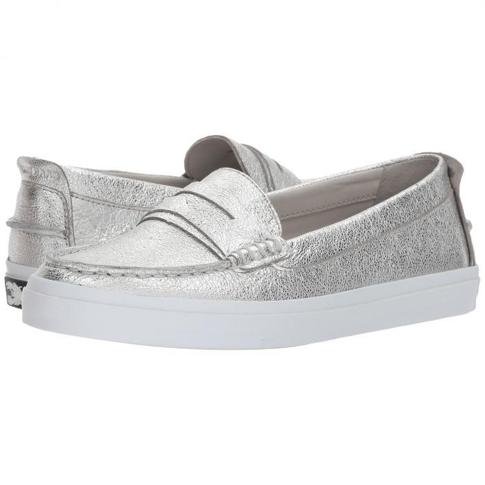 コールハーン COLE HAAN レディース 【 Pinch Weekender Luxe 】 Silver Soko Wash Leather/ch Argento Leather/optic White