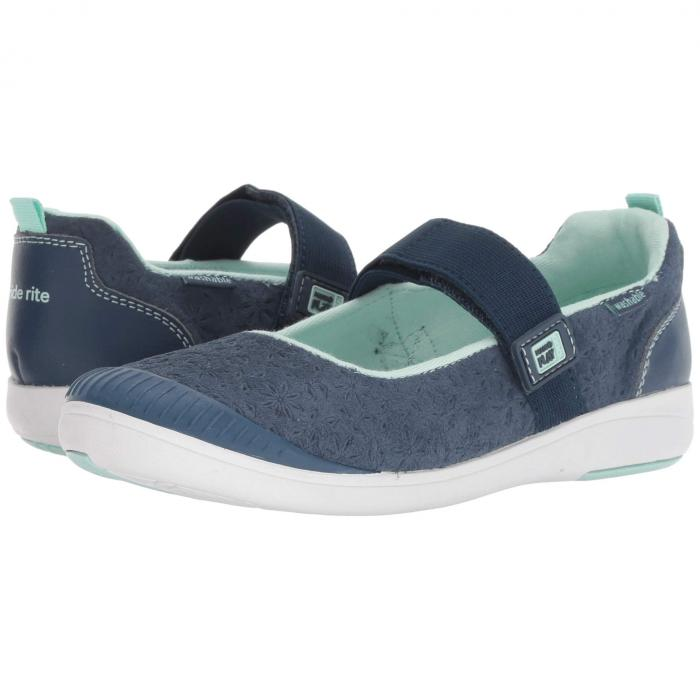 STRIDE RITE 【 M2P LIA LITTLE KID NAVY LEATHER 】 キッズ ベビー マタニティ 送料無料