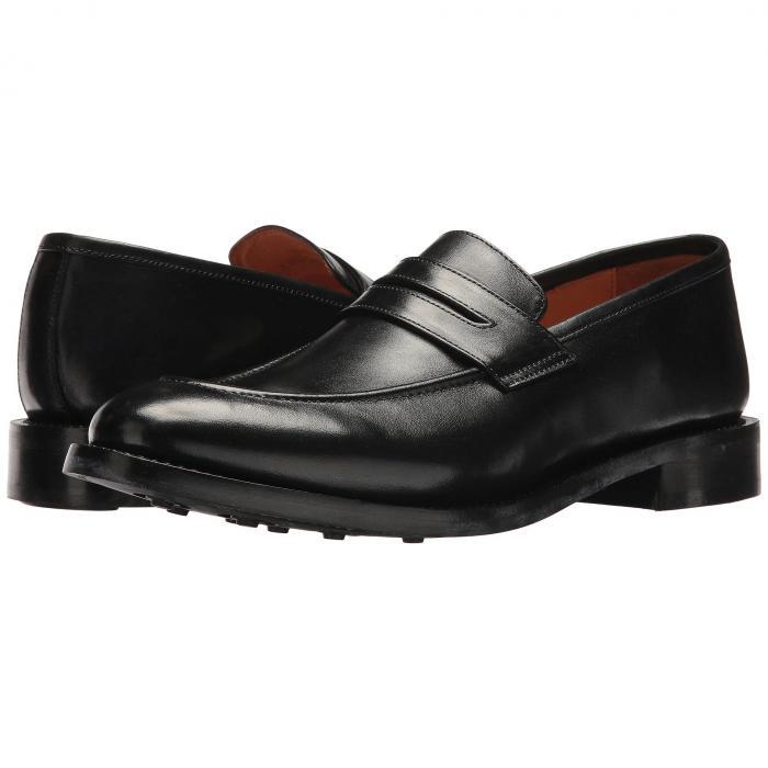 カルロスバイカルロスサンタナ CARLOS BY CARLOS SANTANA メンズ ローファー 【 Navarro 】 Black Full Grain Calfskin Leather