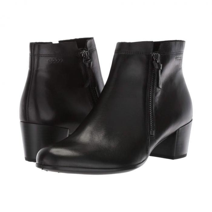 エコー ECCO レディース 【 Shape M 35 Ankle Bootie 】 Black Cow Leather