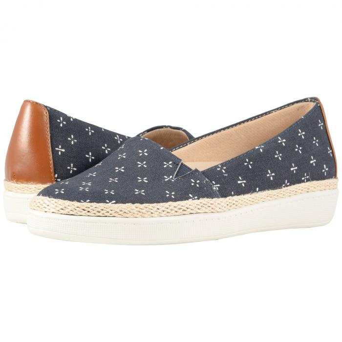 TROTTERS レディース 【 Accent 】 Navy/white Printed Textile