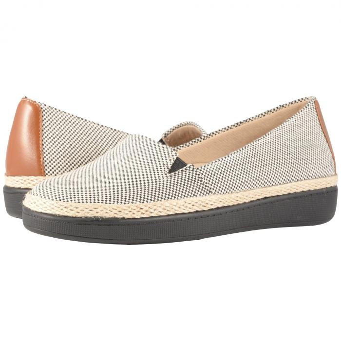 TROTTERS レディース 【 Accent 】 Black/rust Linen/smooth Man Made