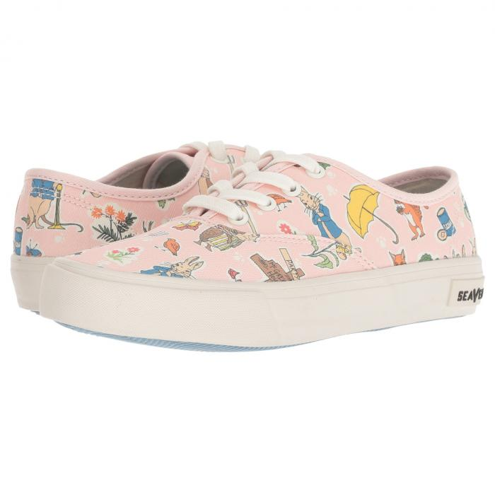 SEAVEES レジェンド ピンク 【 LEGEND PINK SEAVEES SNEAKER PETER RABBIT TODDLER LITTLE KID BIG 】 キッズ ベビー マタニティ ベビー服 ファッション