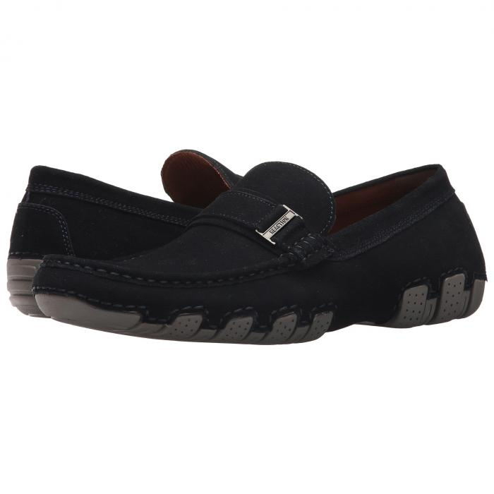 KENNETH COLE REACTION 【 LATER DRIVER B NAVY 】 メンズ ローファー 送料無料