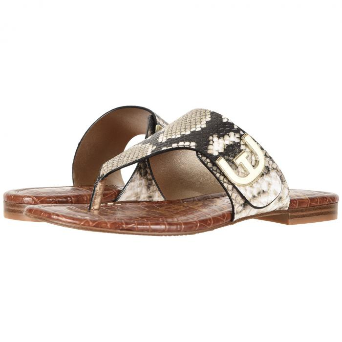 【スーパーセール商品】SAM EDELMAN 【 BARRY NATURAL ROYAL SNAKE PRINT LEATHER 】 送料無料
