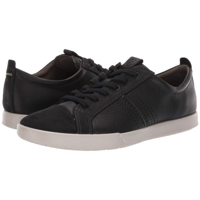 エコー ECCO 2.0 スニーカー メンズ 【 Collin 2.0 Trend Sneaker 】 Black Suede/black Leather