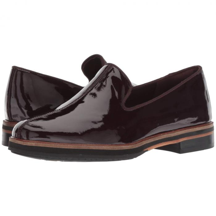 クラークス CLARKS レディース 【 Frida Loafer 】 Aubergine Patent Leather