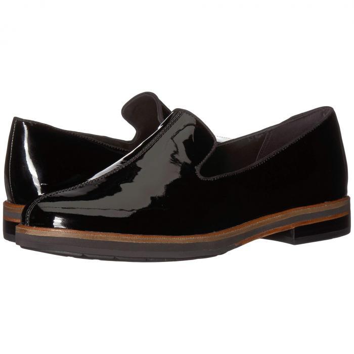 クラークス CLARKS レディース 【 Frida Loafer 】 Black Patent Leather