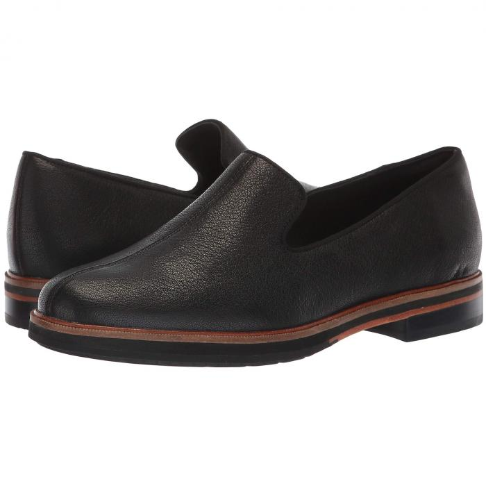 クラークス CLARKS レディース 【 Frida Loafer 】 Black Tumbled Leather