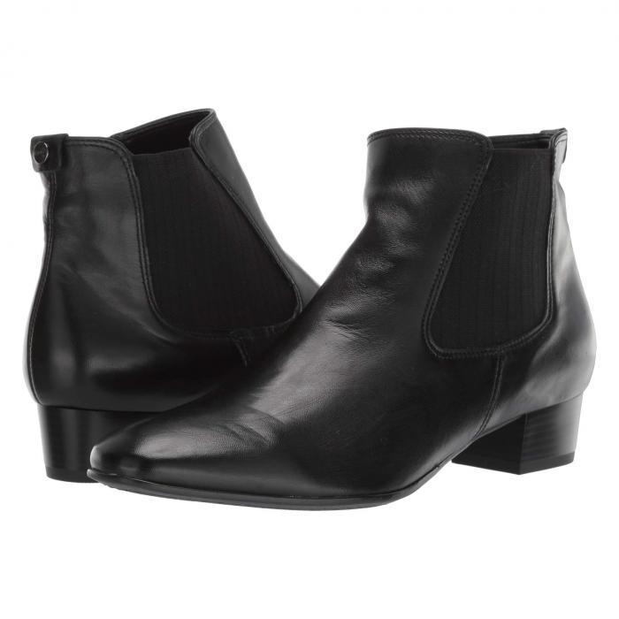 アラ ARA レディース 【 Millicent 】 Black Nappa Soft Smooth Leather