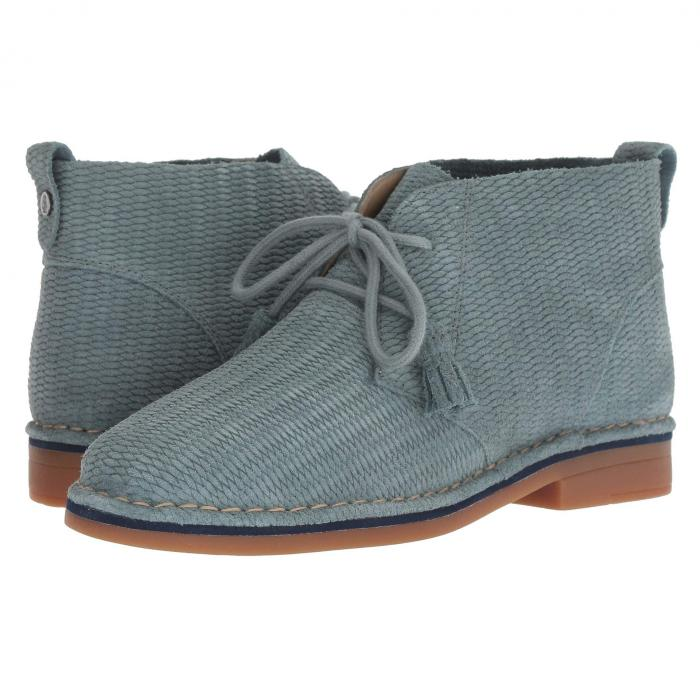 HUSH PUPPIES レディース 【 Cyra Catelyn 】 Storm Embossed Suede
