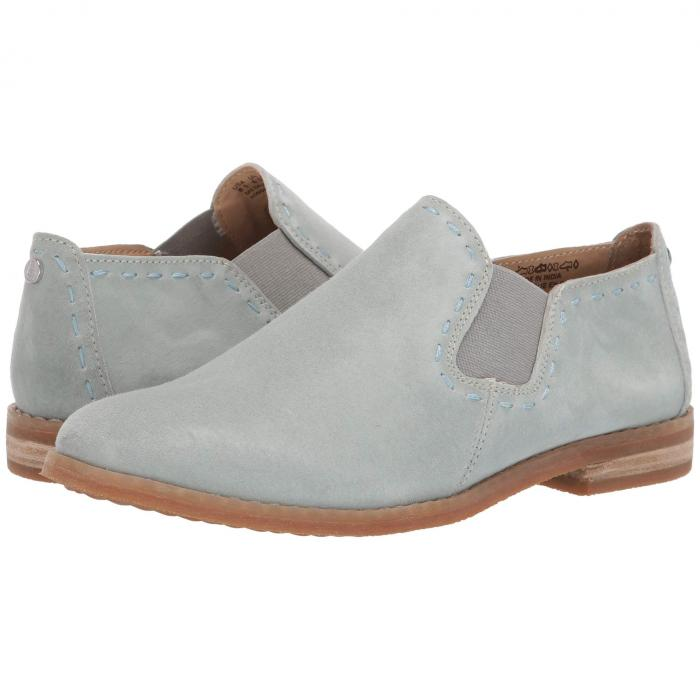 HUSH PUPPIES スリッポン レディース 【 Chardon Slip-on 】 Aqua Grey Suede