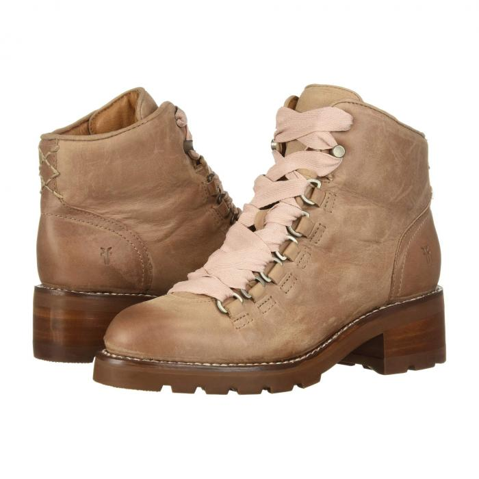 FRYE レディース 【 Alta Hiker 】 Dusty Rose Waxed Pull-up